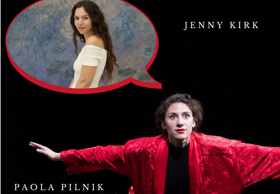 Seminář herectví s Paolou a Jenny