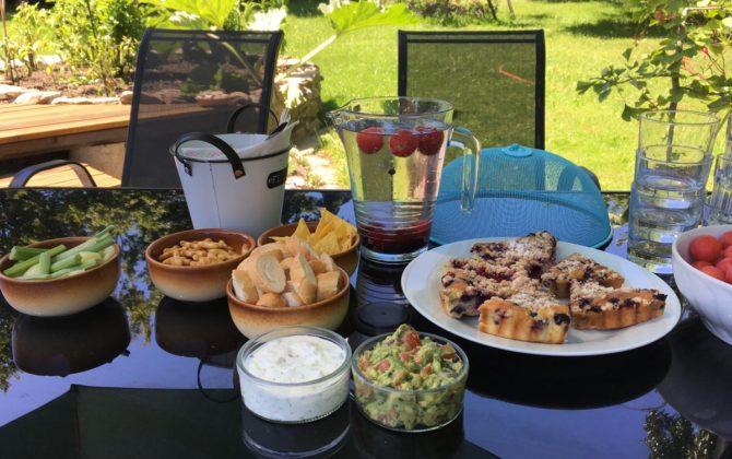 Summer course recipes – dips