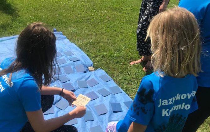 Fotky z anglického příměstského tábora v Č. Krumlove 16-20.7.2018