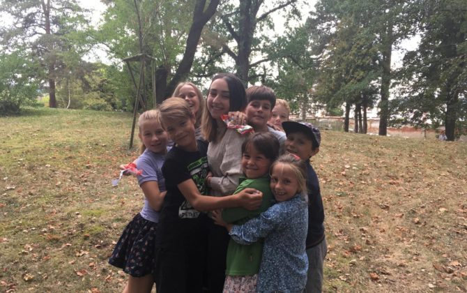 Fotky z anglického příměstského tábora v Č. Krumlove 20-24.8.2018