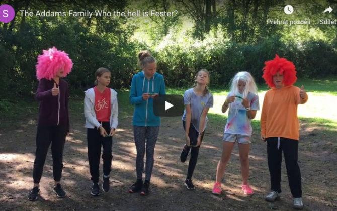 Video z divadelního představení z tábora v Nové Peci 4 – 11.8.