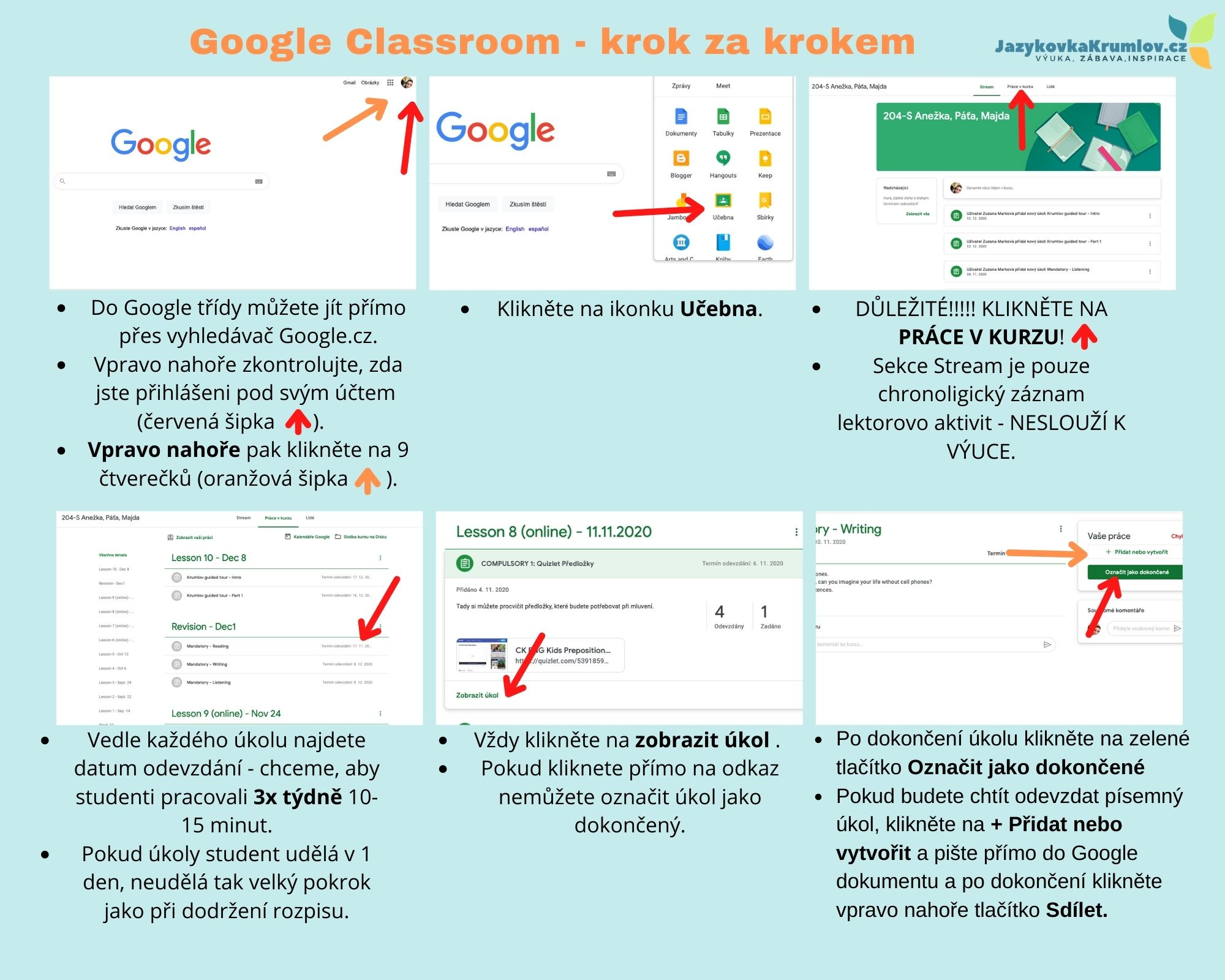 Google-classroom-jak-pouzivat